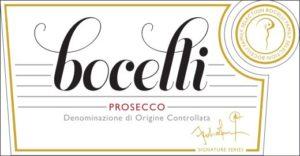 Prosecco DOC Extra Dry van Bocelli Family Wines